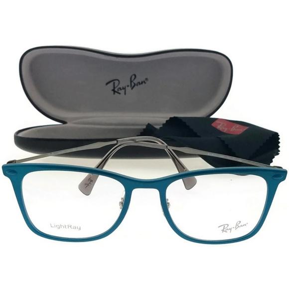 b9263c1dea RX7086-5640 Tech Unisex Blue Frame Eyeglasses